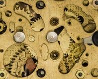 Sveglia dell'annata del movimento a orologeria Immagine Stock Libera da Diritti