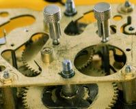 Sveglia meccanica del movimento a orologeria Fotografia Stock
