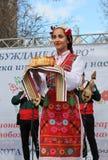 Svegliandosi con il horo - ballo tradizionale bulgaro Fotografia Stock Libera da Diritti