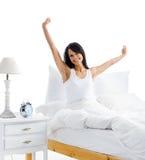Svegliare donna Immagini Stock Libere da Diritti