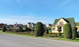 Sveksna town , Lithuania Stock Photography