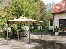 Sveksna town, Lithuania Royalty Free Stock Photos