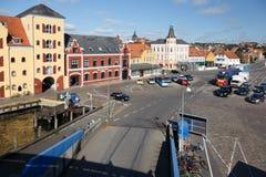 Svendborg färja Royaltyfria Bilder