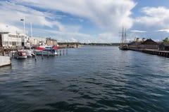 Svendborg hamn royaltyfri foto