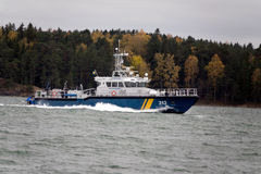 Svensk Coastguard royaltyfri fotografi