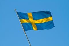 Svensk flagga. Royaltyfria Bilder