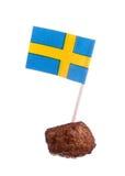 Svensk köttbulle Fotografering för Bildbyråer