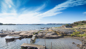 Svensk kust Fotografering för Bildbyråer