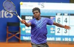 Svensk tennisspelare Elias Ymer Arkivbild