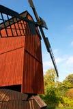 Svensk windmill Royaltyfri Foto