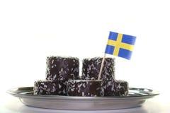 svenska bollar Royaltyfri Fotografi