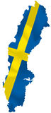 Sverige vektor illustrationer