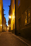 Sverige: Stockholm gammal town Royaltyfri Bild
