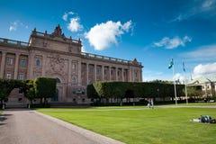 Sveriges Riksdag Royalty Free Stock Photography