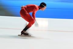 Sverre Lunde Pedersen - speed skating Stock Images