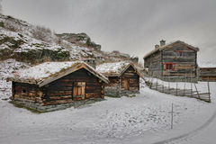 Sverresborg the ethnographic village Royalty Free Stock Photos