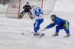 Sveshnikov(white) and Volochugin(blue) Royalty Free Stock Photos