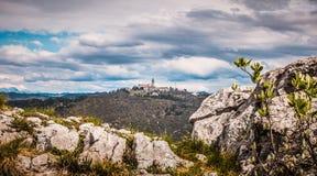 Sveta Gora Holy Moutain, Monte Santo, Nova Gorica royalty-vrije stock foto's