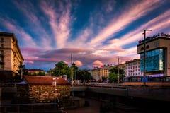 Sveta Nedelya Cathedral en Sofia Bulgaria Photos libres de droits