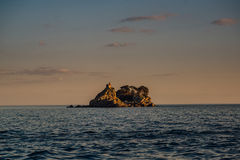 Sveta Nedjelja Island em Montenegro Imagem de Stock