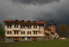 Sveta Petka-klooster Stock Afbeelding