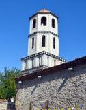Sveti康斯坦丁和埃琳娜教会钟楼  库存图片