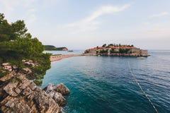 sveti του Μαυροβουνίου Stefan νη&s Στοκ εικόνες με δικαίωμα ελεύθερης χρήσης