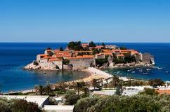 sveti του ST Stefan νησιών στοκ εικόνες