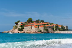 sveti του Stefan νησιών στοκ εικόνες με δικαίωμα ελεύθερης χρήσης