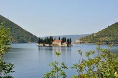 Sveti Dordje, Montenegro Stockfotografie