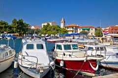 Sveti Filip i Jakov coastal town Royalty Free Stock Photo