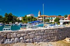Sveti Filip I Jakov village waterfront Stock Image