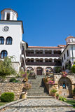 Sveti Georgi Convent. St. George convent yard and building in Macedonia Stock Photography