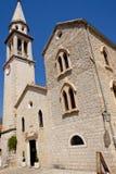 Sveti Ivan Church - Budva Stock Photos