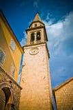 Sveti Ivan Church In Budva Old Town Stock Images