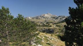 Sveti Jure - highest mountain of Biokovo. Above Makarska rivieata in Croatia Stock Photo