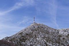 Sveti Jure wysoka część Biokovo góra Obrazy Stock