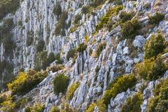 Sveti Nikola highest peak on the island of Hvar Royalty Free Stock Image