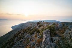 Sveti Nikola, Hvar-Eiland, Dalmatië, Kroatië Stock Foto