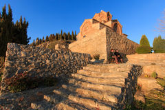 Sveti (Saint) Jovan Kaneo Church on Lake Ohrid Royalty Free Stock Image