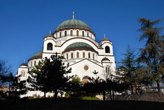 Sveti Sava cathedral in Belgrade Stock Photo