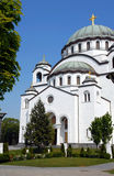 Sveti Sava cathedral in Belgrade Royalty Free Stock Image