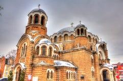 Sveti Sedmochislenitsi Church in Sofia Stock Photography