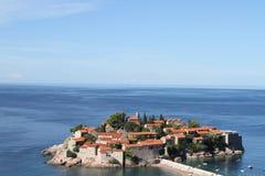 Sveti Stefan Μαυροβούνιο Στοκ φωτογραφία με δικαίωμα ελεύθερης χρήσης