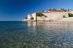 Sveti Stefan Stock Photo