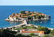 Sveti Stefan Royalty Free Stock Images