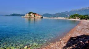 Sveti Stefan, Budua, Montenegro immagine stock libera da diritti