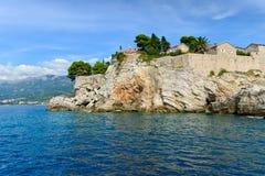 Sveti Stefan, Budva Riviera, Montenegro Lizenzfreie Stockfotos