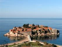 Sveti Stefan - il Montenegro Immagine Stock