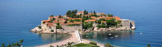 Sveti Stefan - il Montenegro fotografia stock